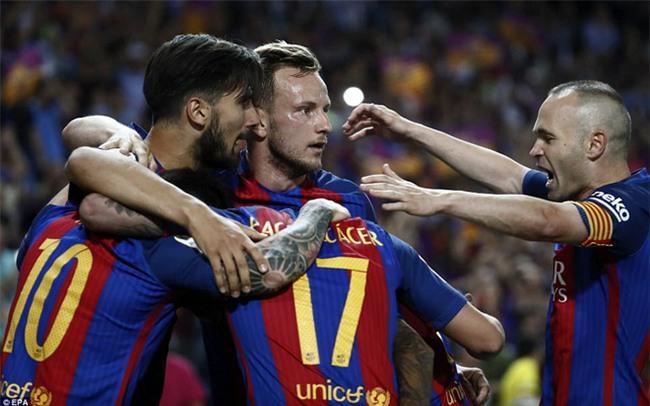 Messi nổ súng, Barca lần thứ 3 liên tiếp giành Cúp Nhà vua - Ảnh 12.