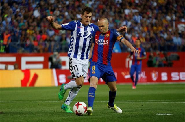 Messi nổ súng, Barca lần thứ 3 liên tiếp giành Cúp Nhà vua - Ảnh 5.