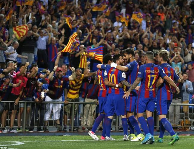 Messi nổ súng, Barca lần thứ 3 liên tiếp giành Cúp Nhà vua - Ảnh 7.