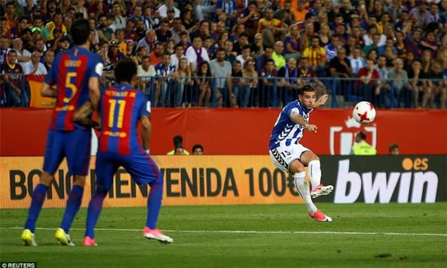 Messi nổ súng, Barca lần thứ 3 liên tiếp giành Cúp Nhà vua - Ảnh 8.