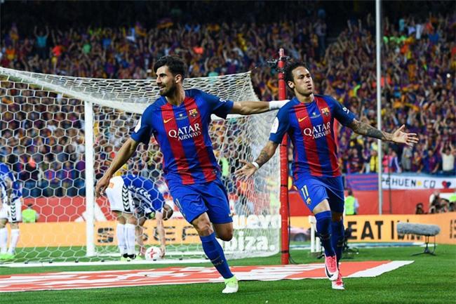 Messi nổ súng, Barca lần thứ 3 liên tiếp giành Cúp Nhà vua - Ảnh 10.
