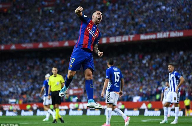Messi nổ súng, Barca lần thứ 3 liên tiếp giành Cúp Nhà vua - Ảnh 11.