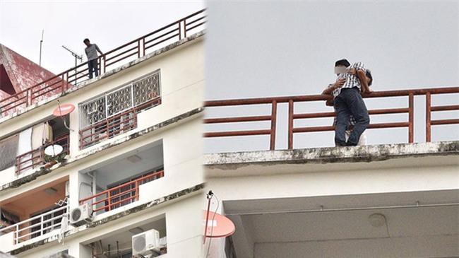 Thái Lan: Bạn thân đi lấy vợ, thầy giáo đòi nhảy tự tử từ tầng 9 tòa nhà cao tầng - Ảnh 2.