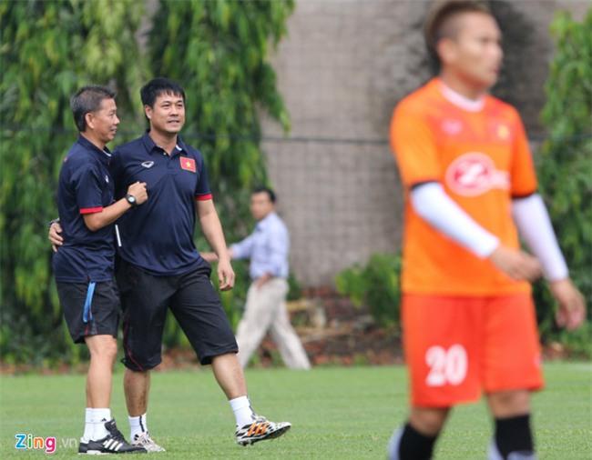 HLV Hoang Anh Tuan: 'Kinh nghiem o World Cup se co loi cho SEA Games' hinh anh 1