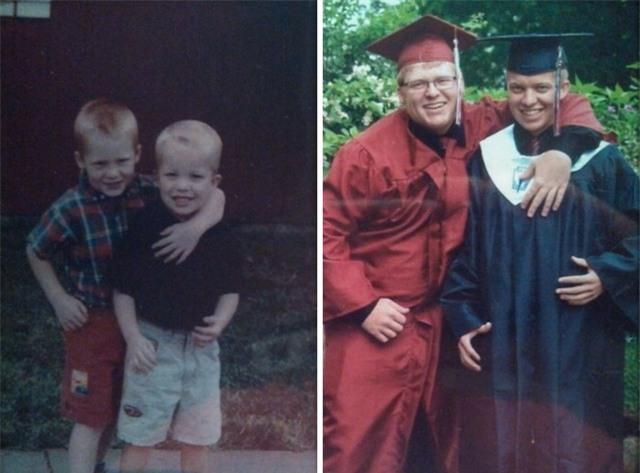 Hai cậu bạn thân thiết từ khi bắt đầu đi học, tới lúc cùng nhau tốt nghiệp.