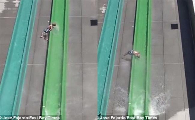 Đi chơi công viên nước, bé trai 10 tuổi bị văng khỏi đường trượt ngay trong ngày khai trương - Ảnh 2.