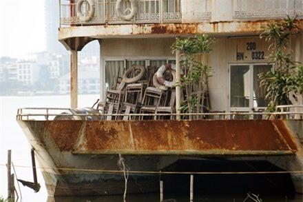 Hồ Tây, nhà hàng, bỏ hoang, dự án bỏ hoang