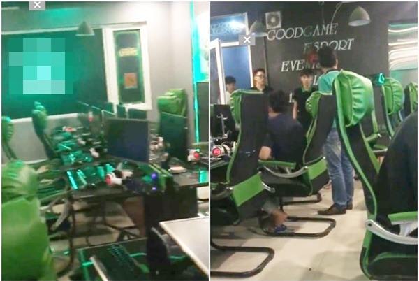 Clip: Tức giận vì con trai đi chơi game, bố đập vỡ hết máy tính quán net - Ảnh 2.