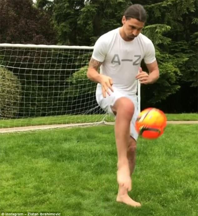 Ibrahimovic: Sư tử bình phục khác người thường - Ảnh 2.