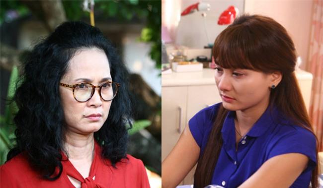 """me chong - nang dau """"cang thang leo thang"""" chi vi lo cung xem phim """"song chung voi me chong"""" - 2"""