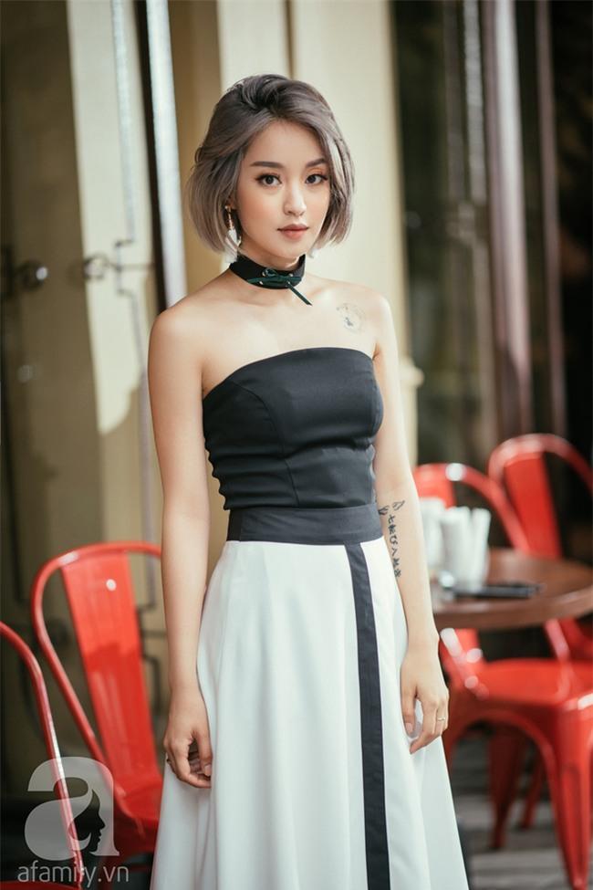 Mi Vân gợi ý cách diện đồ hợp mốt với kiểu tóc ngắn nhuộm màu khói  - Ảnh 13.