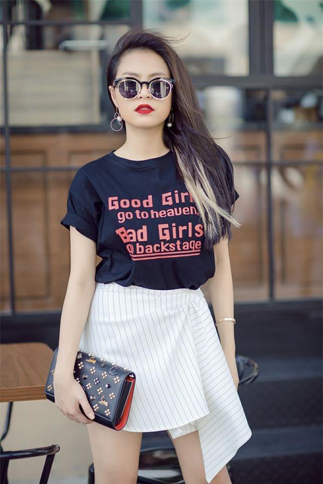 Kỳ Duyên diện đồ đơn giản vẫn kiêu kỳ, Angela Phương Trinh bỗng màu mè hết biết trong street style tuần này - Ảnh 7.