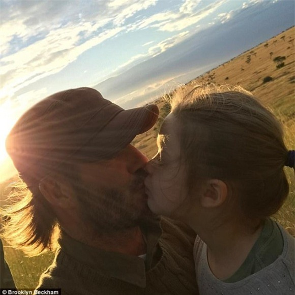 ngôi sao David Beckham,David Beckham và các con,Harper Seven Beckham,Harper Seven,con gái David Beckham