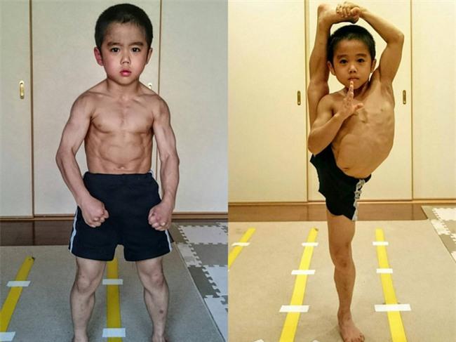 Cậu bé 7 tuổi người Nhật khiến cả thế giới kinh ngạc vì màn trình diễn tuyệt vời y hệt huyền thoại Lý Tiểu Long - Ảnh 8.