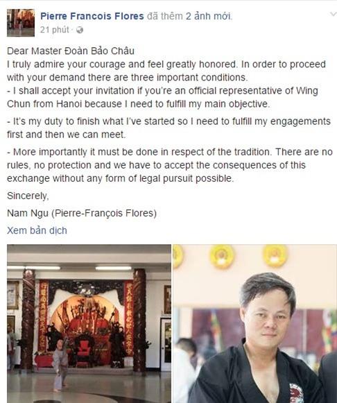 Mon do thach dau Nam Huynh Dao muon dau tu do voi vo su Viet hinh anh 1