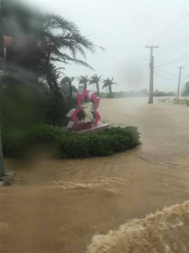 Người dân Đài Loan chật vật đối mặt với ngập úng khắp nơi bởi trận mưa lớn kỷ lục trong 17 năm qua - Ảnh 6.