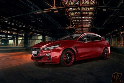 Thợ Việt tự tay độ Mazda3 cực ấn tượng - 1