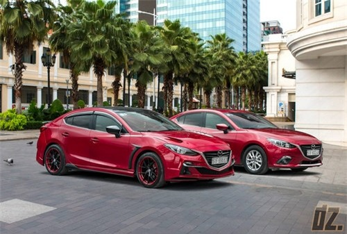 Thợ Việt tự tay độ Mazda3 cực ấn tượng - 2