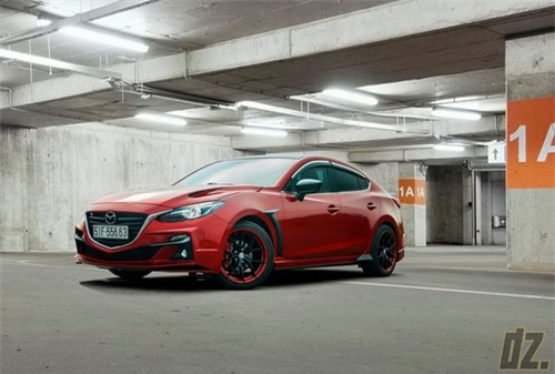 Thợ Việt tự tay độ Mazda3 cực ấn tượng - 3