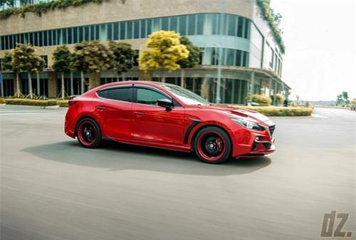 Thợ Việt tự tay độ Mazda3 cực ấn tượng - 5