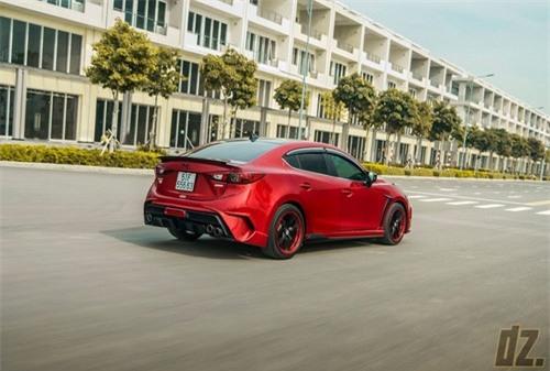Thợ Việt tự tay độ Mazda3 cực ấn tượng - 6