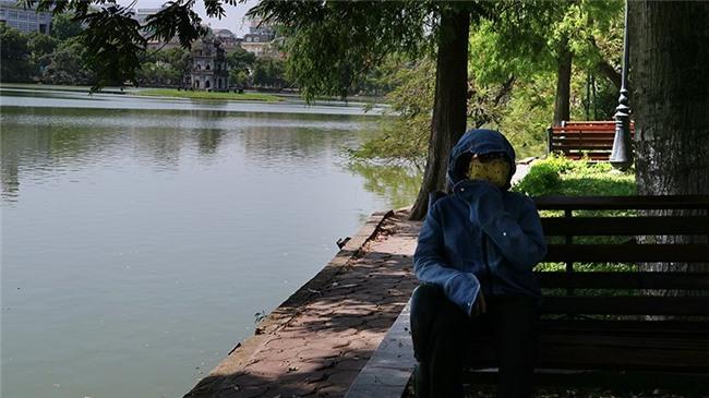 nắng nóng, thời tiết Hà Nội, Hà Nội, phố đi bộ, nóng kỷ lục, nóng gay gắt, Hồ Gươm
