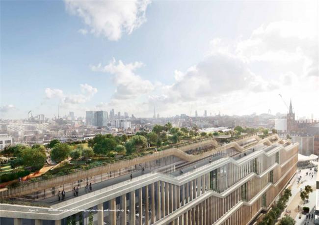 Google lại khiến nhân viên văn phòng trên toàn thế giới ghen tị khi tiết lộ hình ảnh văn phòng mới đẹp như mơ tại London - Ảnh 1.