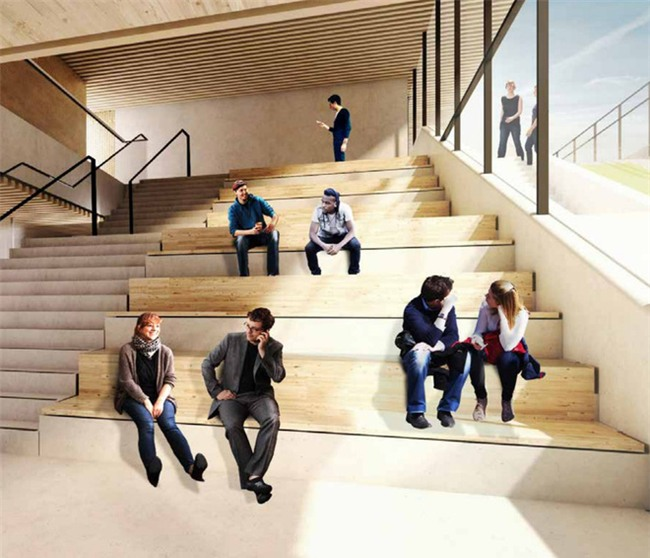Google lại khiến nhân viên văn phòng trên toàn thế giới ghen tị khi tiết lộ hình ảnh văn phòng mới đẹp như mơ tại London - Ảnh 9.
