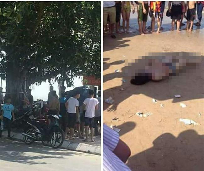 Hai du khách đuối nước đúng ngày nắng nóng đi tắm biển Đồ Sơn Hải Phòng - Ảnh 1.