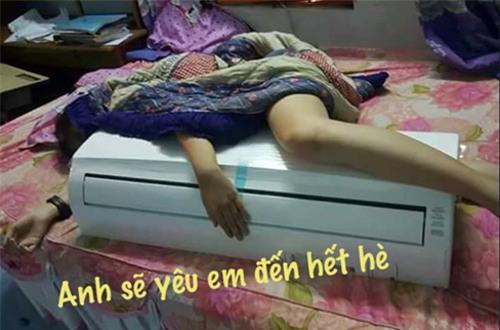 "nang nong ""muon phat dien"" nhung ai xem loat anh che nay cung phai... cuoi rung ron - 1"