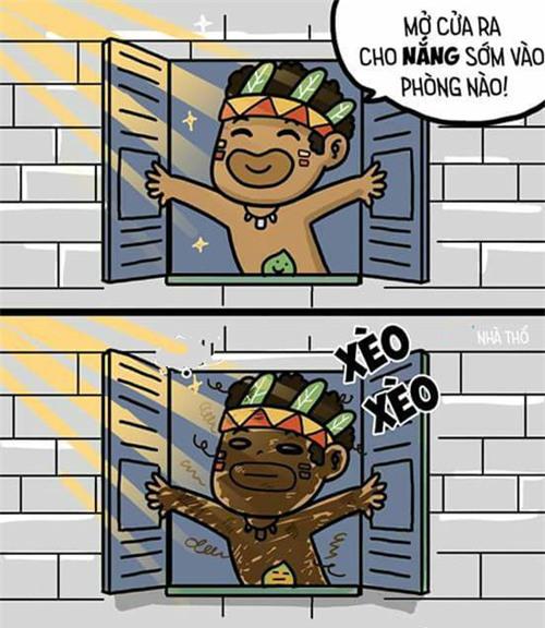"nang nong ""muon phat dien"" nhung ai xem loat anh che nay cung phai... cuoi rung ron - 11"