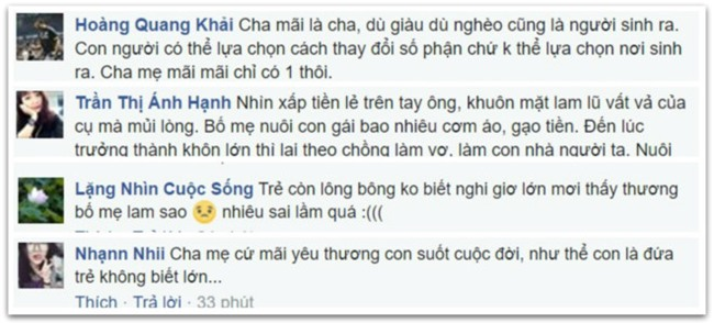 Cha ngheo mang nhieu coc tien le mua cua hoi mon cho con gai hinh anh 2