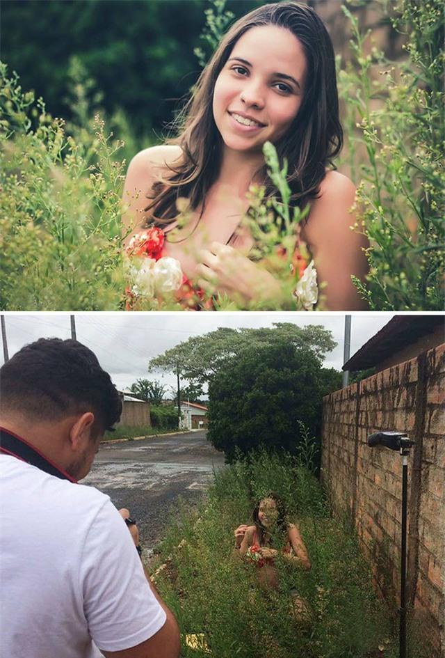 Giữa ảnh chụp và bối cảnh thực tế là cả một sự khác biệt lớn.