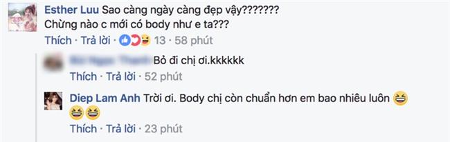 Khoe dáng với bikini nóng bỏng, Diệp Lâm Anh vẫn bị soi dùng siêu năng lực bẻ cong bức hình - Ảnh 2.