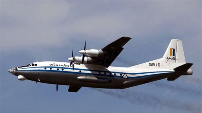 May bay quan su Myanmar cho 116 nguoi mat tich hinh anh 2