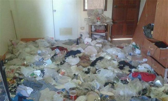 Nữ sinh viên thuê nhà chuyển đi, chủ phòng trọ khóc thét khi thấy khung cảnh tan hoang như bãi rác - Ảnh 1.
