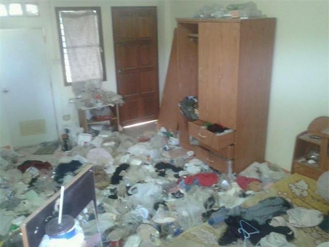 Nữ sinh viên thuê nhà chuyển đi, chủ phòng trọ khóc thét khi thấy khung cảnh tan hoang như bãi rác - Ảnh 3.