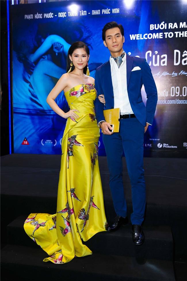 Truong Giang, Nha Phuong mac do doi di xem phim hinh anh 5