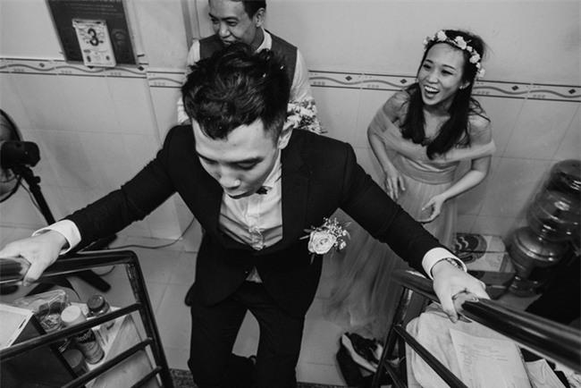 """Một thập kỷ yêu và đám cưới """"bá đạo"""" cô dâu mời nguyên dàn phù rể uống nước tương xá xị - Ảnh 15."""