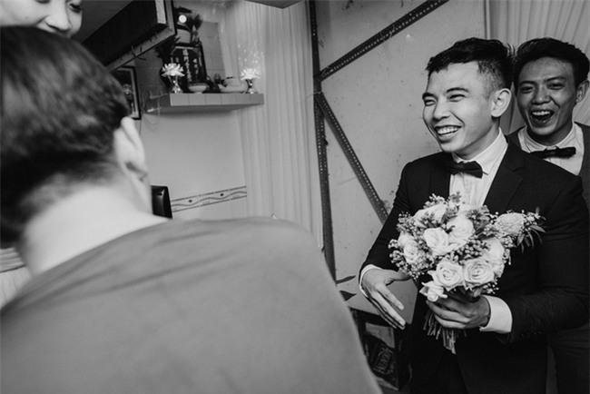 """Một thập kỷ yêu và đám cưới """"bá đạo"""" cô dâu mời nguyên dàn phù rể uống nước tương xá xị - Ảnh 10."""