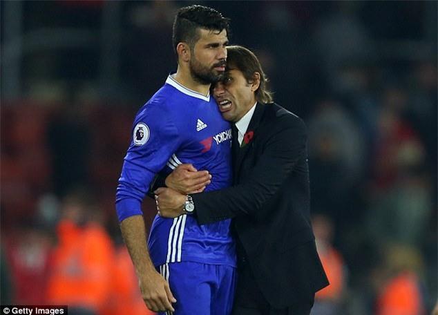 Diego Costa hành xử thế này, chẳng trách bị tống cổ khỏi Chelsea - Ảnh 1.