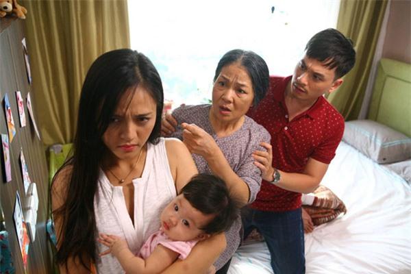 MC Danh Tùng diễn chưa tỏa sáng trong phim Sống chung với mẹ chồng.