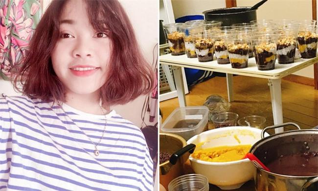Du học sinh Việt bươn chải tại Nhật: Học bài bên nồi chè, mỗi ngày bán hơn 150 suất - Ảnh 1.