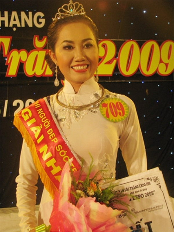 """Võ Thị Mỹ Xuân đã giành danh hiệu cao nhất cuộc thi """"Người đẹp Sóc Trăng năm 2009""""."""