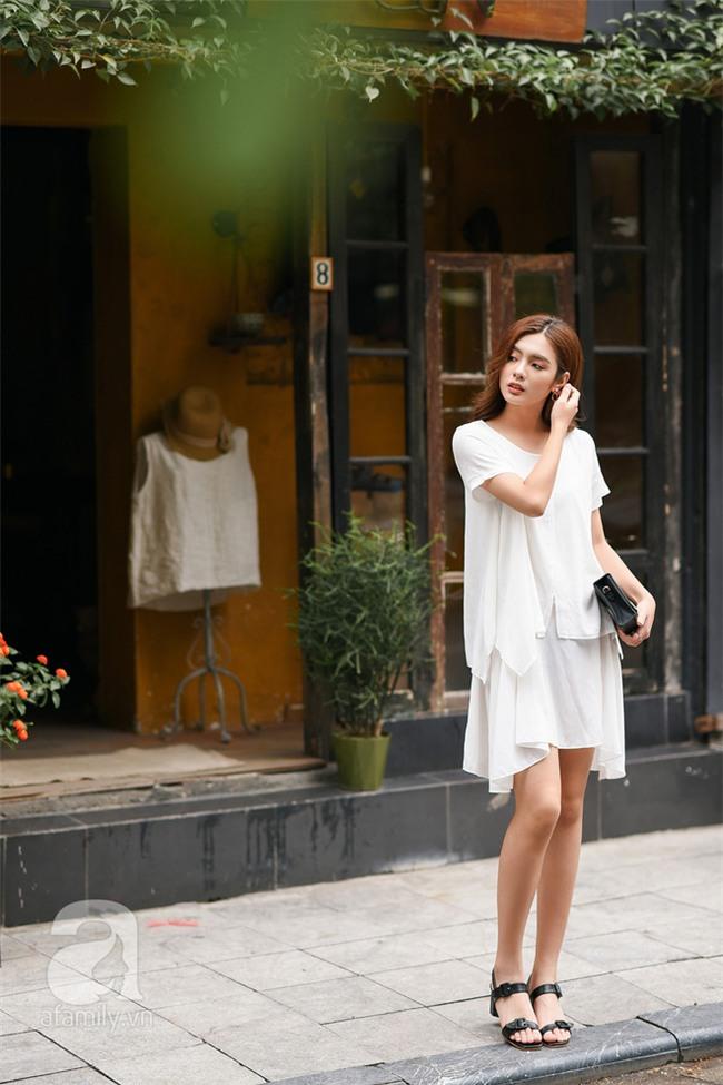 Cuối tuần nắng đẹp, quý cô hai miền xuống phố với loạt váy áo xinh miễn chê - Ảnh 10.