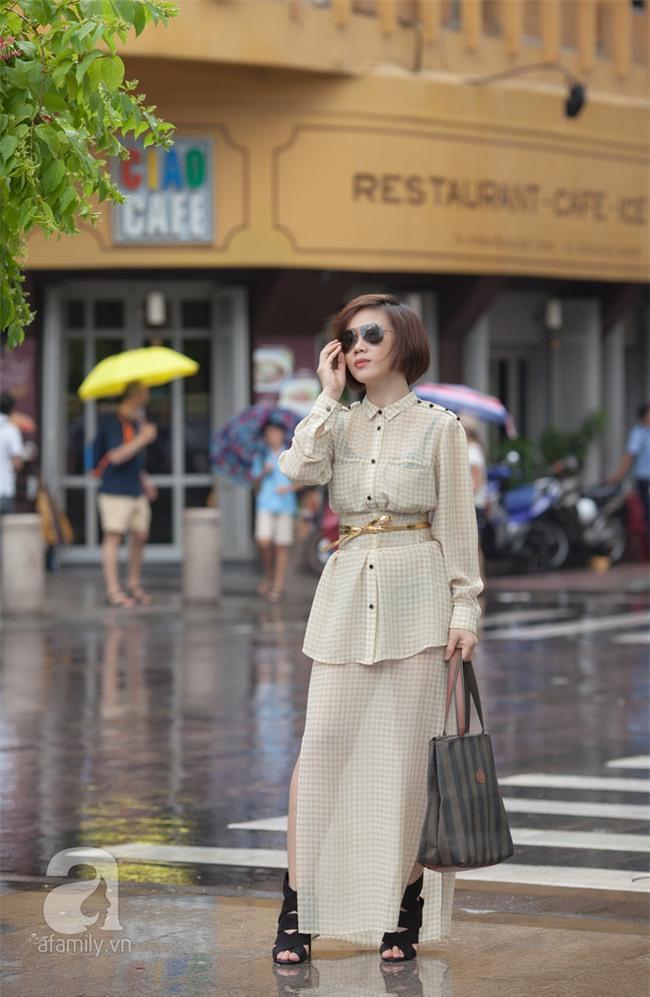 Cuối tuần nắng đẹp, quý cô hai miền xuống phố với loạt váy áo xinh miễn chê - Ảnh 17.