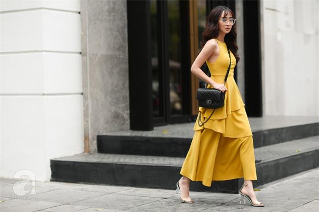 Cuối tuần nắng đẹp, quý cô hai miền xuống phố với loạt váy áo xinh miễn chê - Ảnh 4.
