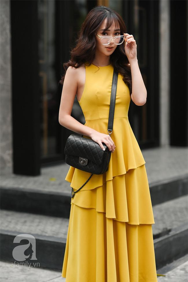 Cuối tuần nắng đẹp, quý cô hai miền xuống phố với loạt váy áo xinh miễn chê - Ảnh 5.