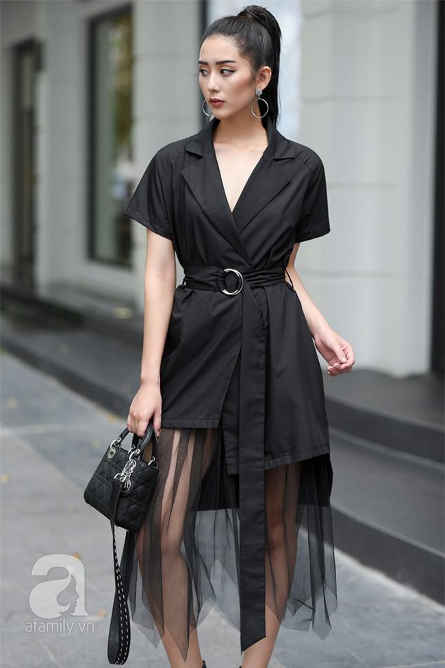 Cuối tuần nắng đẹp, quý cô hai miền xuống phố với loạt váy áo xinh miễn chê - Ảnh 9.