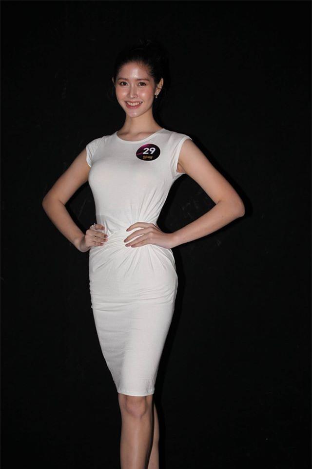 Nhan sắc đẹp tựa nữ thần của thí sinh Hoa hậu chuyển giới Thái Lan khiến phái nữ cũng phải ghen tị - Ảnh 2.